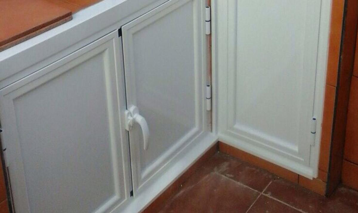 Proyectos en aluminio carpinter a met lica tovar - Puerta corredera doble hoja ...